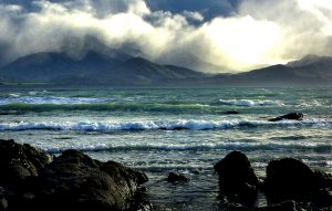 Storm brewing over Kaikoura